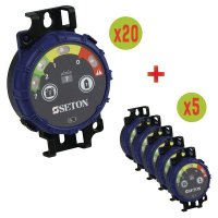 SETON Prüf-Timer Vorteilspack 20 + 5