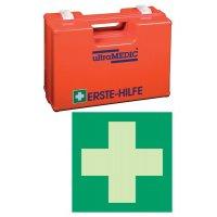 Erste-Hilfe-Koffer Basic Set mit Schild, ÖNORM Z1020 Typ 1