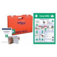 Erste-Hilfe-Koffer Basic Set mit Aushang, DIN 13169