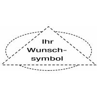 Bodenmarkierung - Warnsymbole, Verbotssymbole, Gebotssymbole nach Wunsch