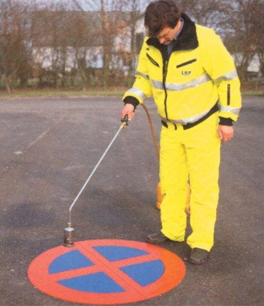 Gehweg - PREMARK Straßenmarkierungen, Verkehrszeichen - Außenanlagen und Parkplätze