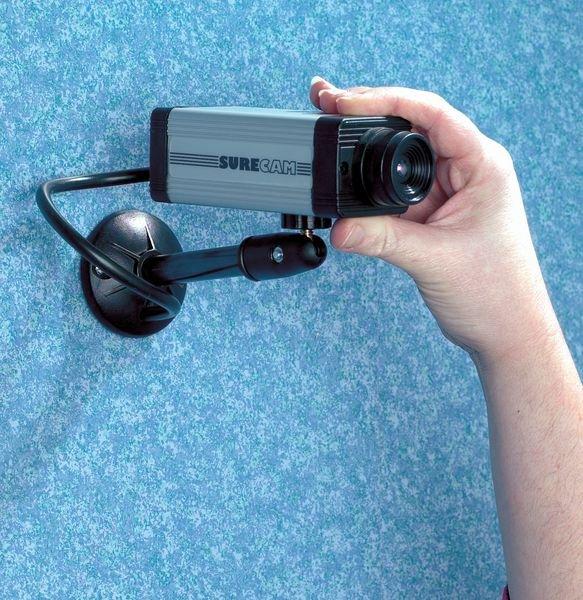 Überwachungskamera-Attrappe für den Innenbereich