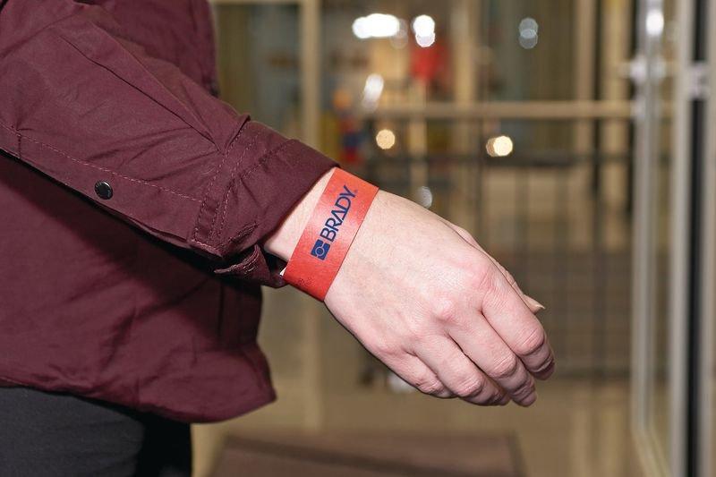 Tyvek® Eintrittsbänder, bedruckt nach Wunsch, reißfest - Ausweis- und Schlüsselbänder