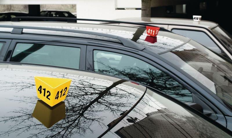 Leitzahlträger-Sammelhalter - Parkausweise