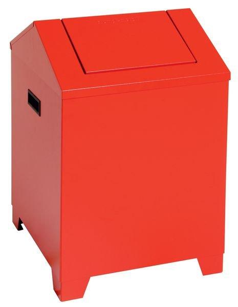 Sicherheits-Abfallbehälter, feuersicher