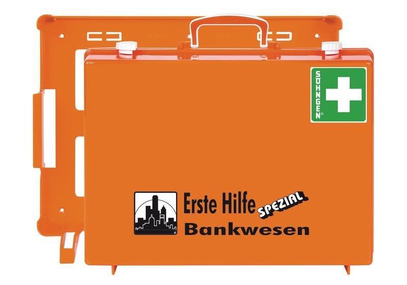 SÖHNGEN Erste-Hilfe-Koffer Spezial und Nachfüllpackungen für Bankwesen, DIN 13157