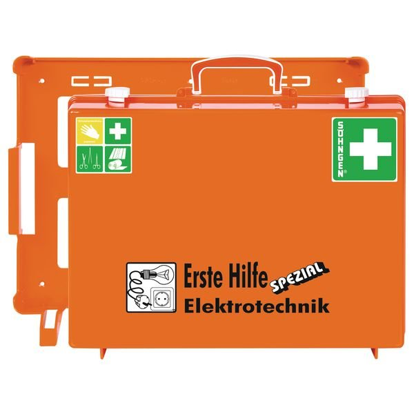 SÖHNGEN Erste-Hilfe-Koffer Spezial und Nachfüllpackungen für Elektrotechnik, ÖNORM Z1020 Typ 1