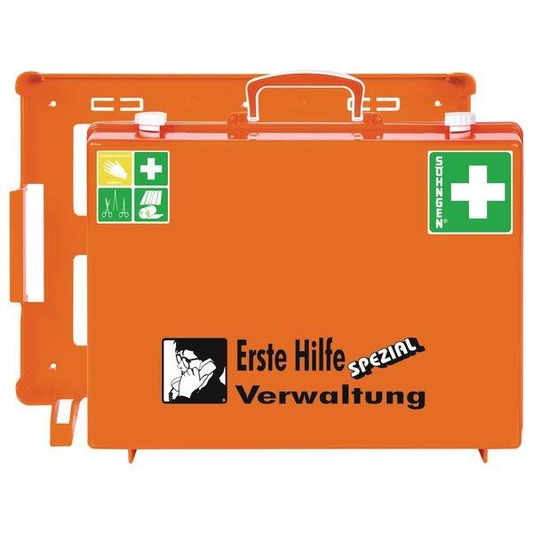 SÖHNGEN Erste-Hilfe-Koffer Spezial und Nachfüllpackungen für Verwaltung, ÖNORM Z1020 Typ 1