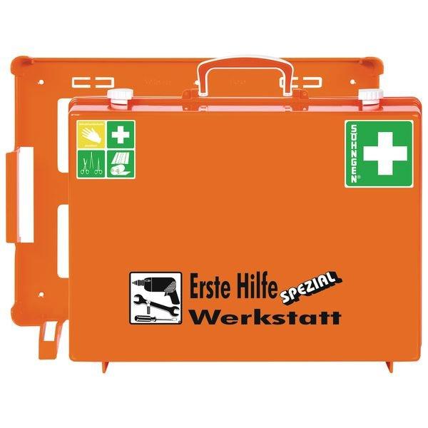 SÖHNGEN Erste-Hilfe-Koffer Spezial und Nachfüllpackungen für Werkstatt, ÖNORM Z1020 Typ 1