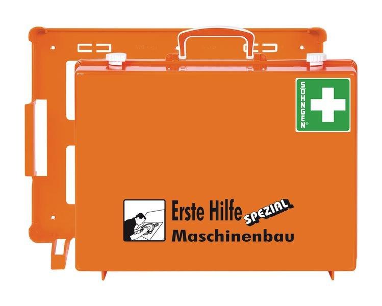 SÖHNGEN Erste-Hilfe-Koffer Spezial und Nachfüllpackungen für Maschinenbau, DIN 13157