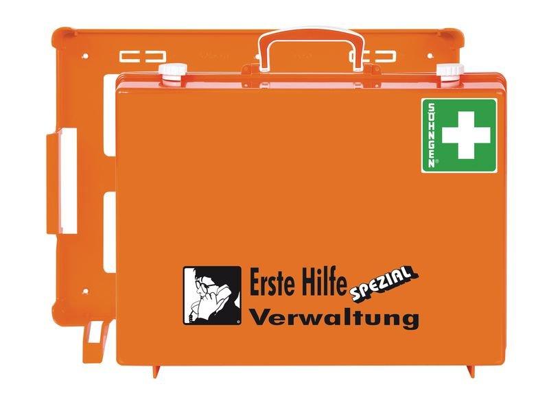 SÖHNGEN Erste-Hilfe-Koffer Spezial und Nachfüllpackungen für Verwaltung, DIN 13157