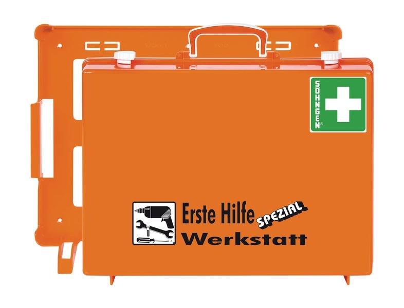 SÖHNGEN Erste-Hilfe-Koffer Spezial und Nachfüllpackungen für Werkstatt, DIN 13157
