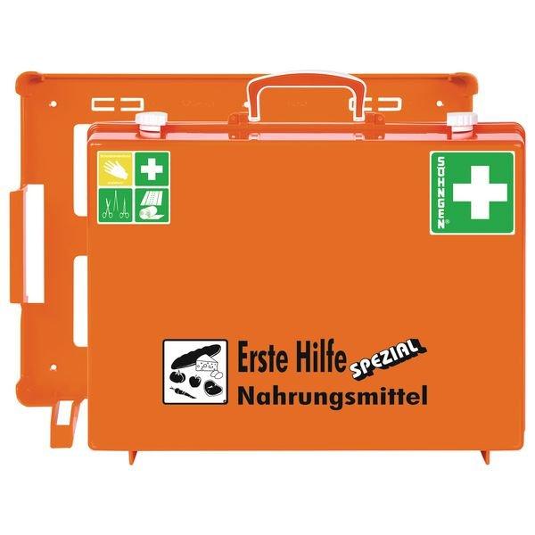 SÖHNGEN Erste-Hilfe-Koffer Spezial und Nachfüllpackungen für Nahrungsmittel, ÖNORM Z1020 Typ 1