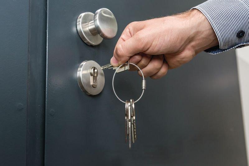 Edelstahlringe mit Gewinde - Schlüsselanhänger und Schlüsselaufbewahrung