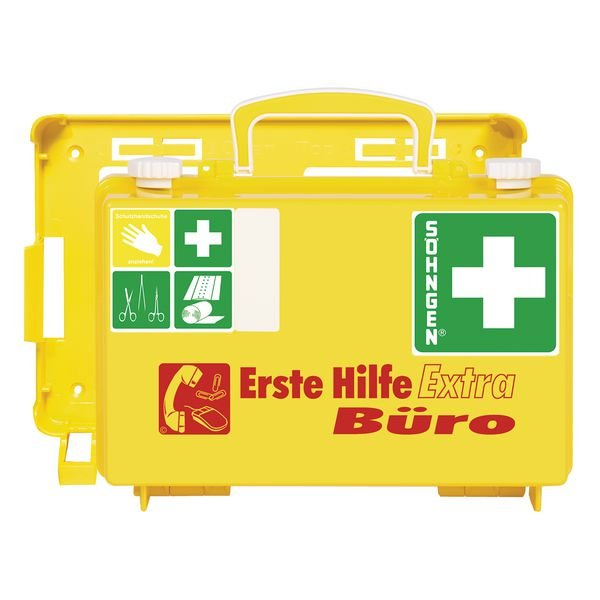 SÖHNGEN Erste-Hilfe-Koffer Extra für Büro, DIN 13157