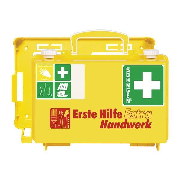 SÖHNGEN Erste-Hilfe-Koffer Extra für Handwerk, DIN 13157