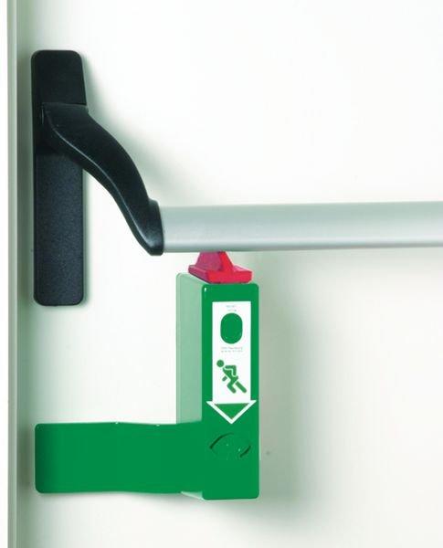 Panikstangen-Türwächter mit Voralarm, EN 179, EN 1125 - Brandschutz