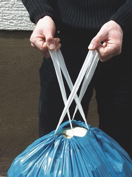 Abfallsäcke mit Zugband