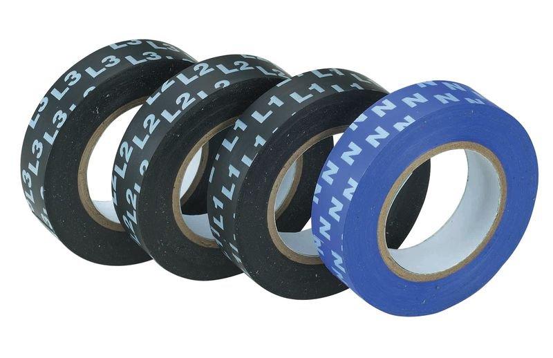 Isolierbänder zur Phasenkennzeichnung