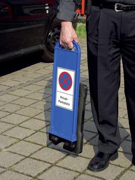 Kundenparkplatz – Parkbaken, mobil - Außenanlagen und Parkplätze
