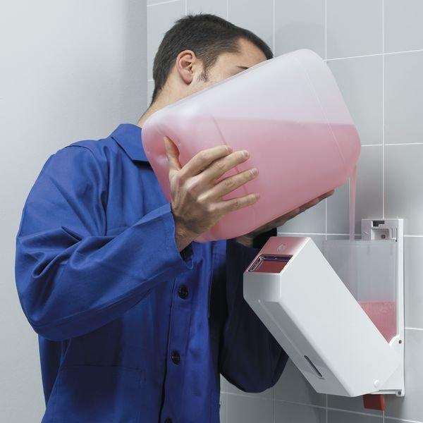 Seifenspender, Weiß - Seifen- und Papierspender