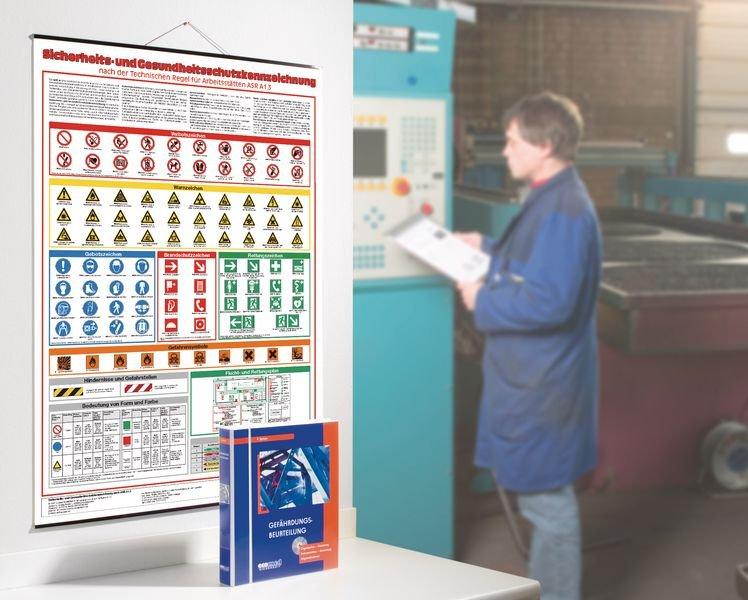 Gefahrstoff-Kennzeichnung – Betriebsaushänge, Sicherheitskennzeichnung - Betriebsaushänge