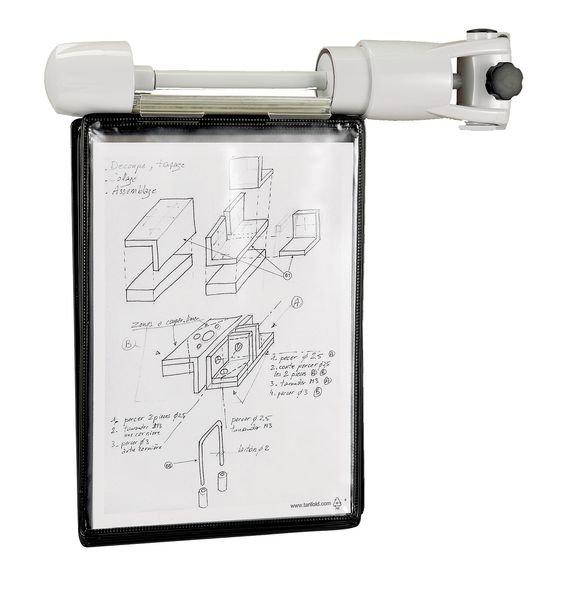 Universal-Drehständer mit Wandhalterung für Sichttafeln