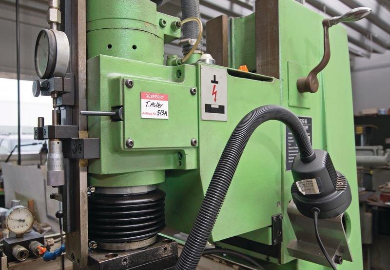 Magnetetiketten zur Qualitätssicherung, auf Bogen