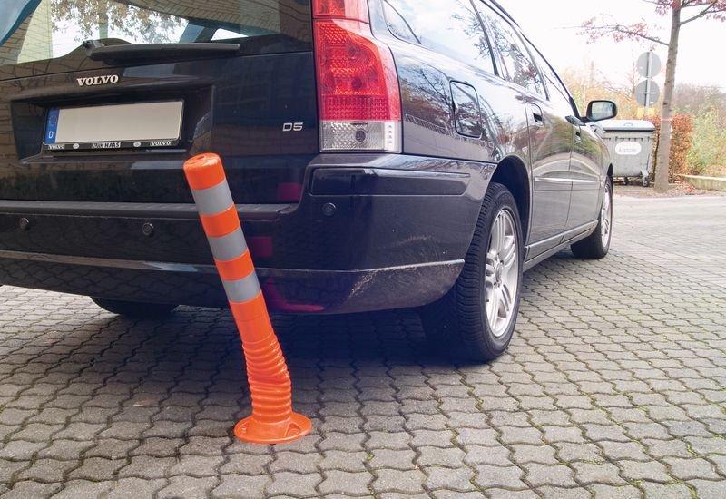 Verbot für KFZ – Verkehrszeichen für ECO Leitpfosten-Schilderhalter
