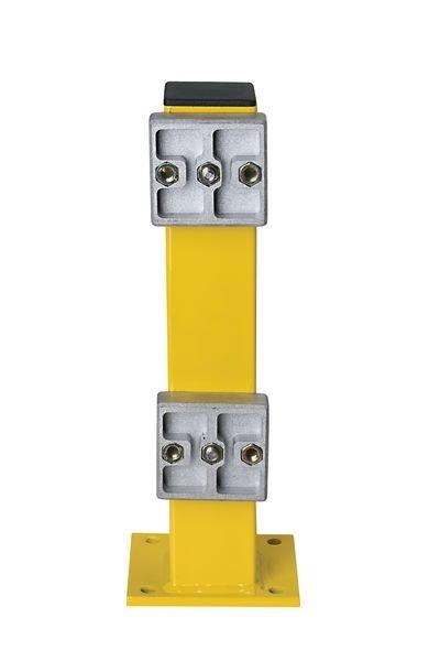 Rammschutz-Plankensystem, mit Federelement