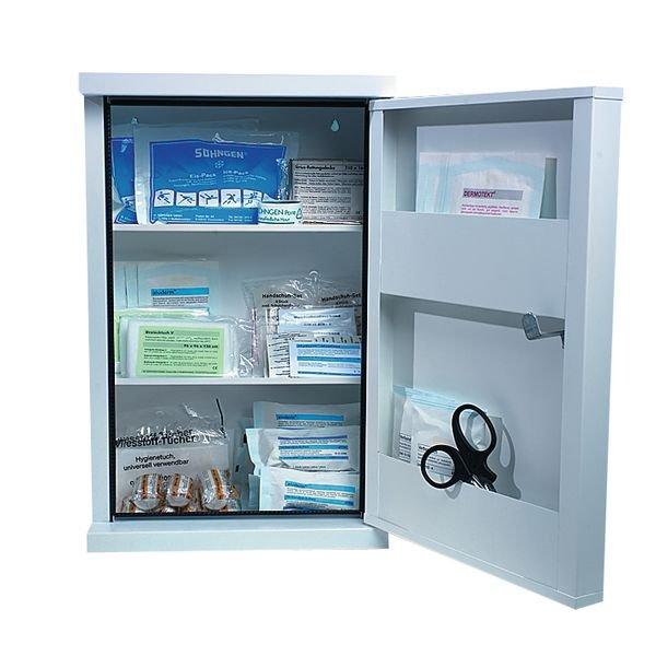 Erste-Hilfe-Schränke, Stahl, DIN 13169 - Erste-Hilfe-Schränke
