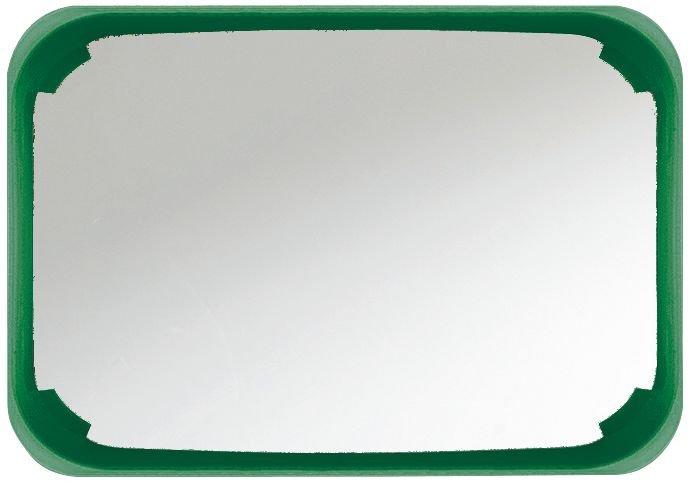 PREMIUM Außenspiegel mit farbigem Rahmen, eckig