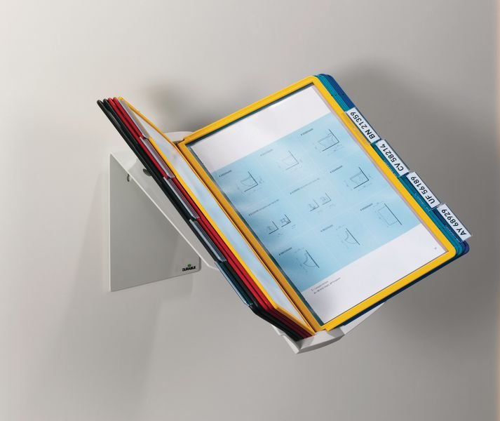 DURABLE MULTI Sichttafel-System für 10 Tafeln