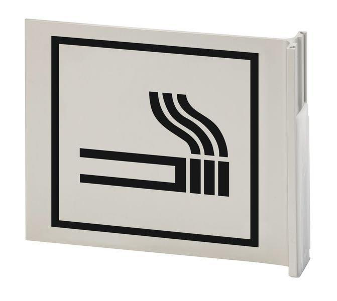 Raucherzone - Alu-Fahnenschild zur Gebäudekennzeichnung