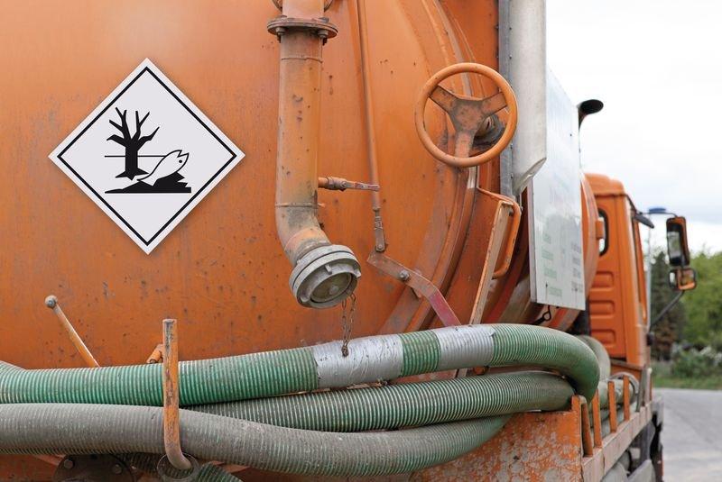 Umweltgefährdende Stoffe - Gefahrzettel-Schilder zum Transport von Gefahrgut, Aluminium, ADR, RID, IMO, IATA, GGVSE, IMDG - Gefahrgutkennzeichnung