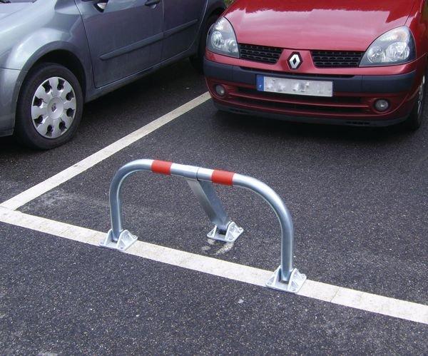 Rund-Parkbügel ohne Stoßdämpfung
