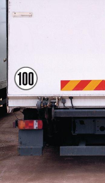 Schilderhalter für Geschwindigkeitsschilder