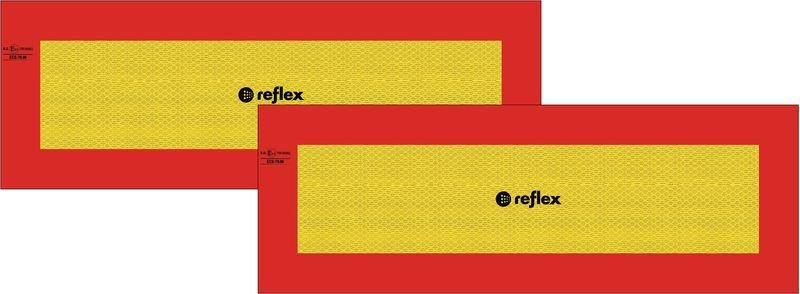 LKW Heckmarkierungen für Anhänger, ECE 70