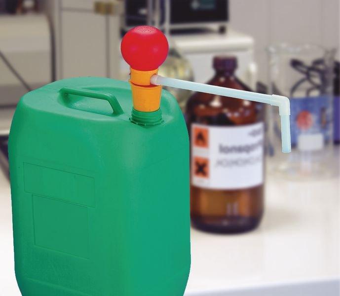 Polypropylen-Handpumpen zur Fass- und Kanisterentleerung