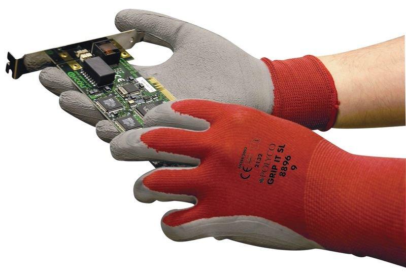 Polyco® Sicherheitshandschuhe, Latexschaum