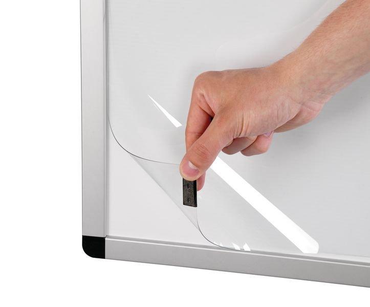 Schreibtisch-Pinnwand - Flipcharts und Wandtafeln