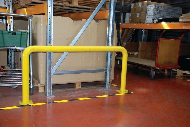 4 Schrauben für Beton - Befestigungsmaterial für Schutzbügel - Rammschutz