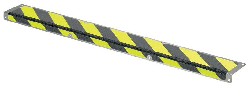 Antirutsch-Treppenstufen-Profile, aus Stahl