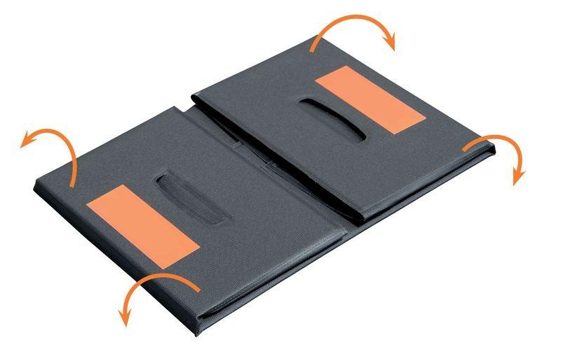 PVC-Faltwannen Mini, mobil