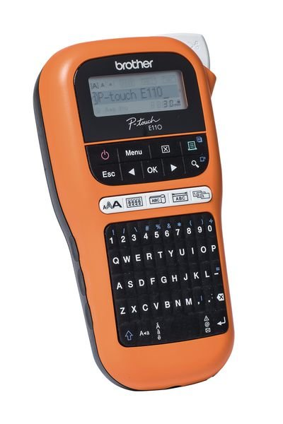 Brother Beschriftungsgeräte PT-E110 (PTE110G1) - Beschriftungsgeräte und Zubehör
