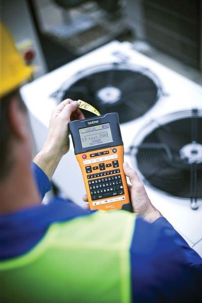 Brother Industrie Beschriftungsgeräte PT-E500VP - Beschriftungsgeräte und Zubehör