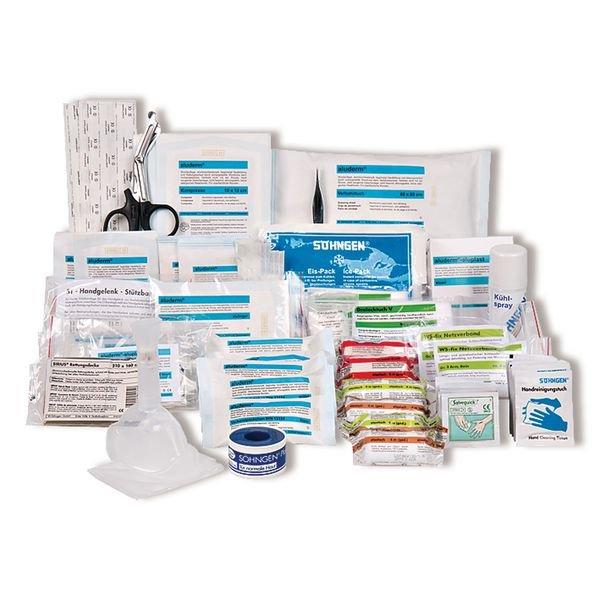 SÖHNGEN Erste-Hilfe-Nachfüllpackungen für Erste-Hilfe-Koffer Extra, Verwaltung, DIN 13157