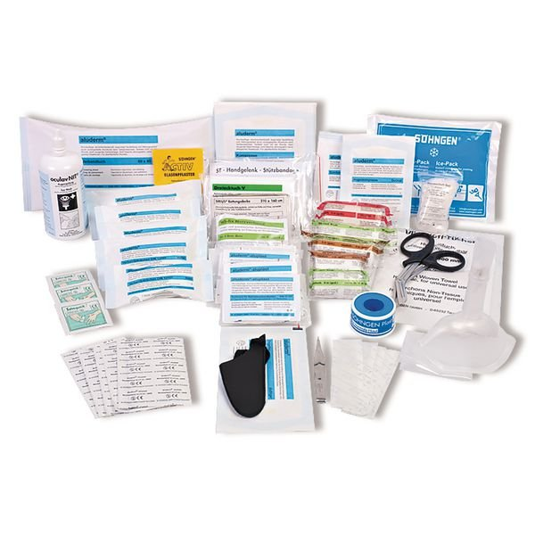 SÖHNGEN Erste-Hilfe-Nachfüllpackungen für Erste-Hilfe-Koffer Extra/Direkt, Büro, DIN 13157