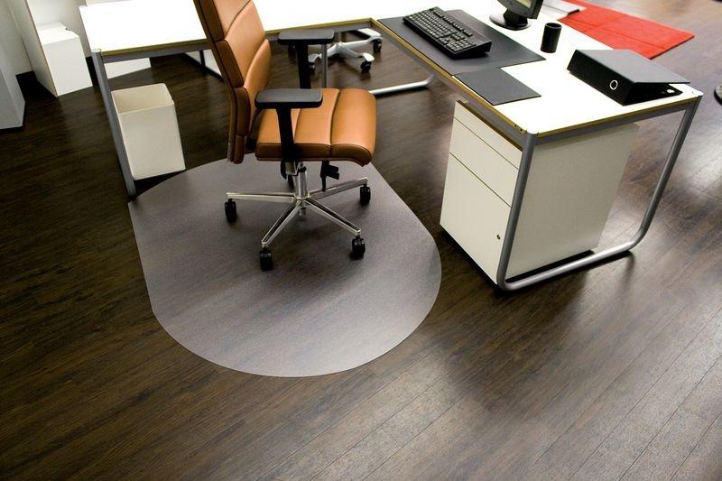 Bürostuhlunterlagen, naturschonend, geruchsneutral, Schildform
