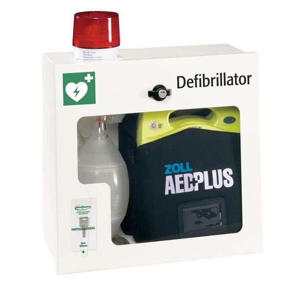 Wandschränke für Defibrillator ZOLL AED Plus